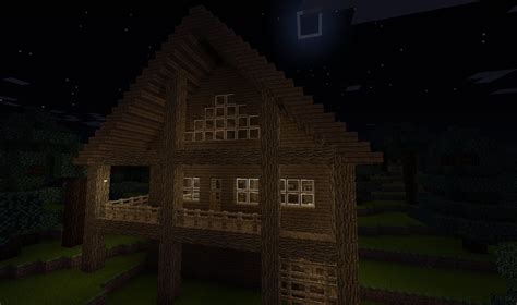 how to make a minecraft cabin youtube