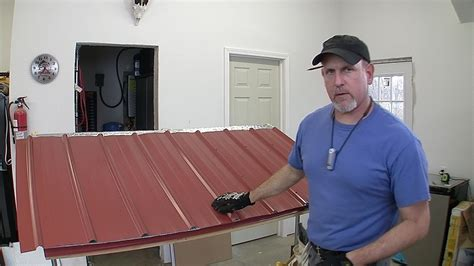 3 Car Detached Garage how to build a pole barn pt 7 metal roofing youtube