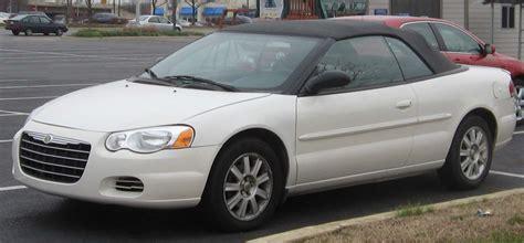 03 Chrysler Sebring by File 03 06 Chrysler Sebring Convertible Jpg Wikimedia