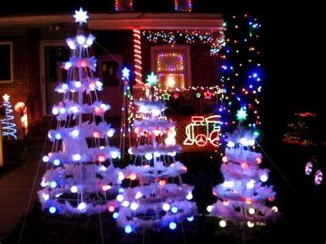 light show trees gemmy light show part one