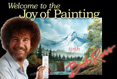 bob ross paintings on display bob ross paints on revolution ign