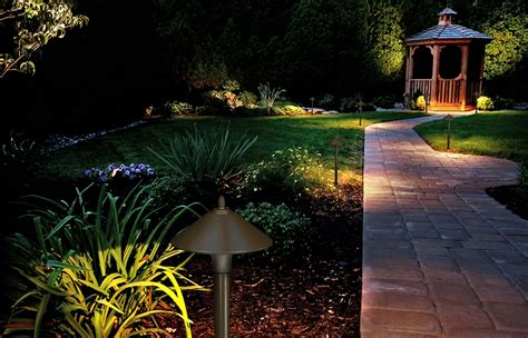 fx luminaire led path garden outdoor landscape lighting