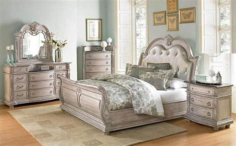 vintage bed set furniture palace ii bedroom set with sleigh bed in