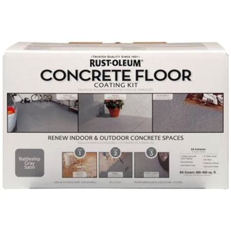 home depot paint kit rust oleum concrete floor coating kit 265054 the home depot