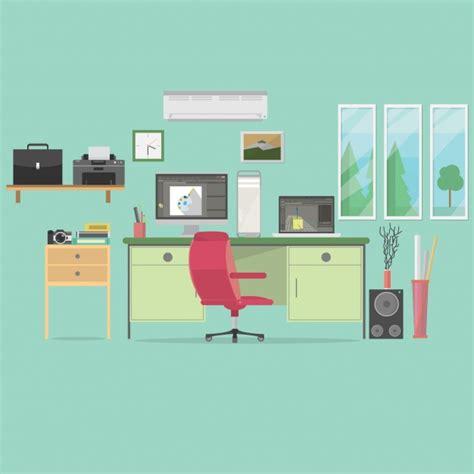 office desk images office background design vector free