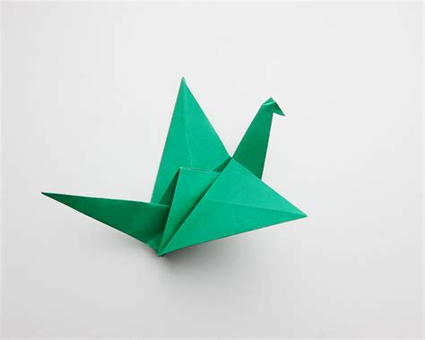 flapping bird origami how to make an origami flapping bird 14 steps with pictures