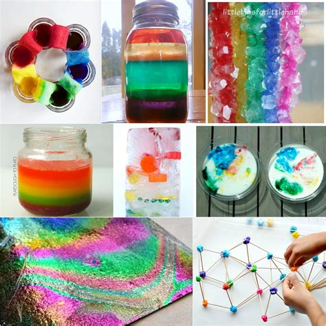 projects for 25 rainbow activities for playdough to plato