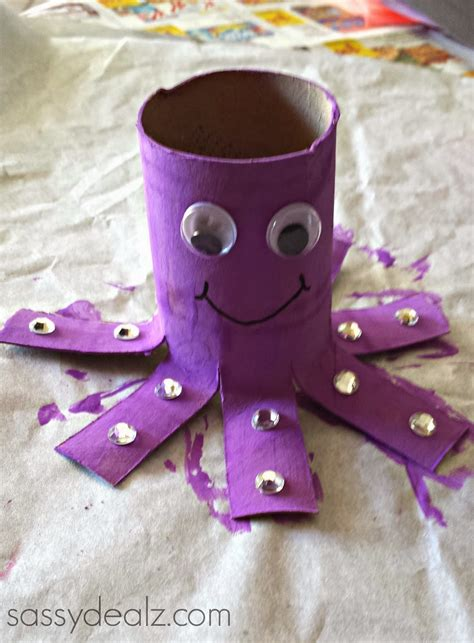 octopus toilet paper roll craft 51 toilet paper roll crafts do small things with