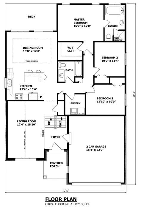 canadian bungalow floor plans canadian house plans canadian ranch house plans raised