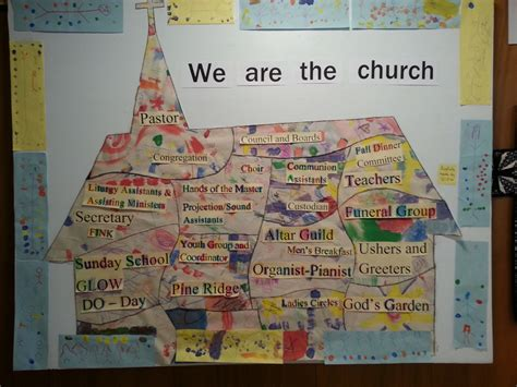 crafts for church immanuel lutheran church we are the church glow craft