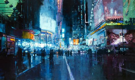 paint nite cities blurred city cool wallpapers