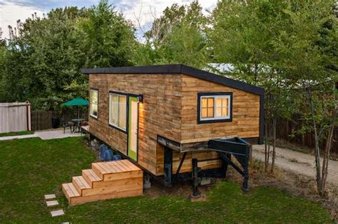 Micro Home woman builds her own diy 196 sq ft micro home for 11k