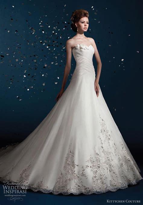 wedding gown with kittychen couture wedding dresses 2012 wedding inspirasi