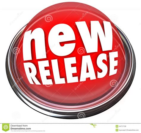 new releases new release product debut update refresh button