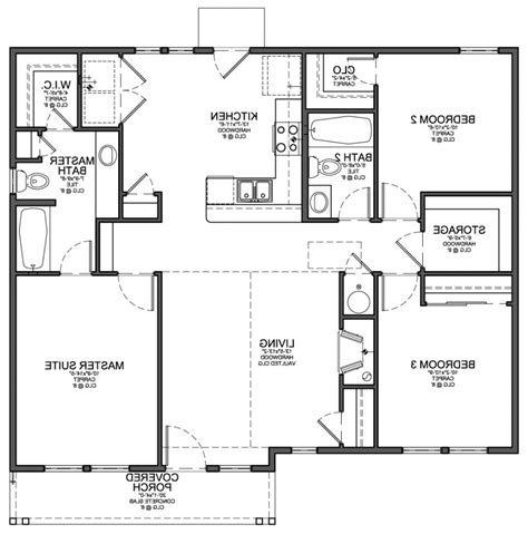 simple open floor plan homes bedroom house floor plans d house plans with open floor