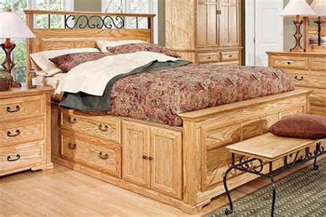 thornwood queen size captain bed with storage