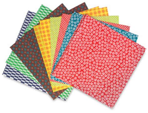 origami materials aitoh kimono and folk origami paper blick materials
