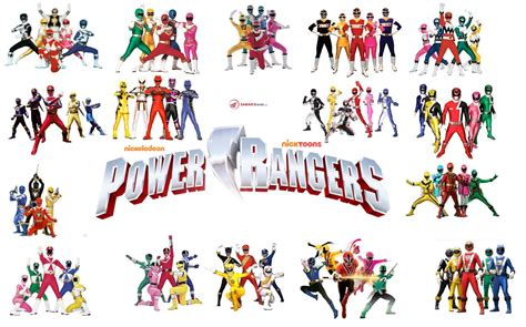 list of power rangers characters