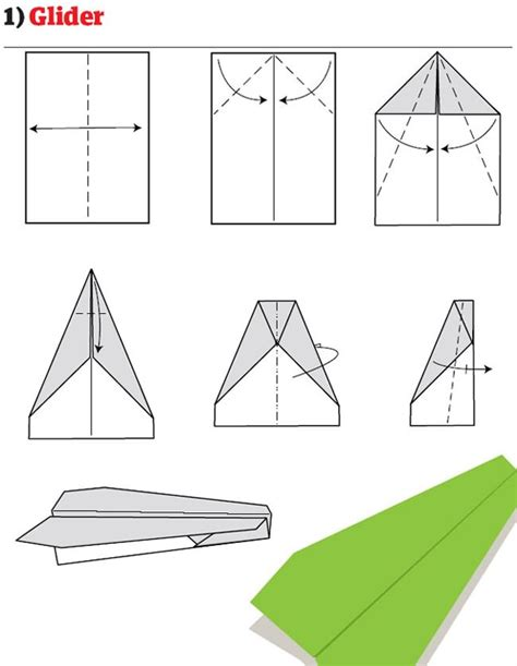origami glider plane how to build the world s best paper airplanes