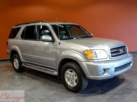 how cars run 2001 toyota sequoia electronic valve timing buy used 2001 toyota sequoia limited in bensenville illinois united states for us 4 999 00