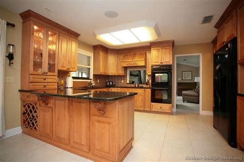 kitchen design with peninsula pictures of kitchens traditional light wood kitchen