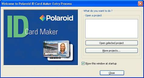 id card make polaroid id card maker entry software informer screenshots