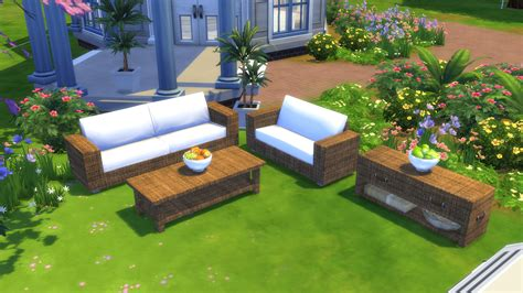 Where Can I Buy Dining Room Chairs mod the sims garden furnitures set