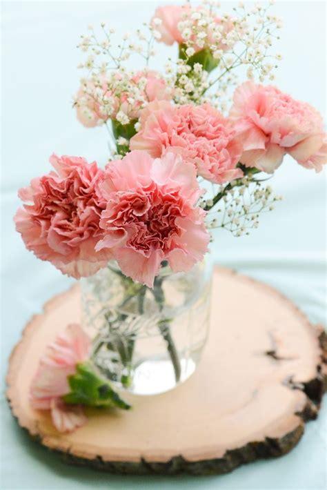 bridal shower centerpiece ideas best 10 carnation centerpieces ideas on