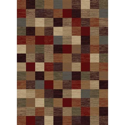 area rugs home depot 5x8 tayse rugs festival multi 5 ft 3 in x 7 ft 3 in