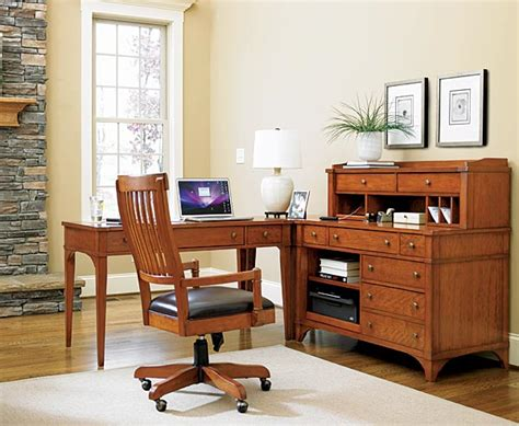 mission style home office furniture american leather chairs craftsman style desk mission