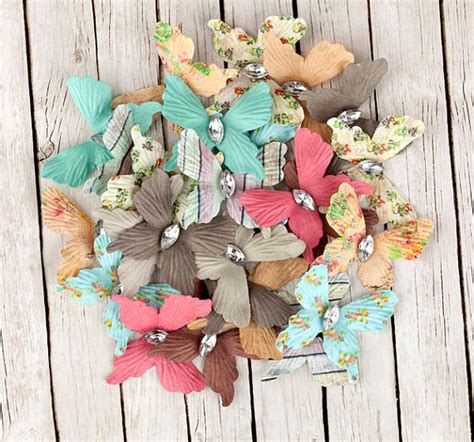 scrapbook paper crafts for rhymes paper butterflies with gem for scrapbooking and