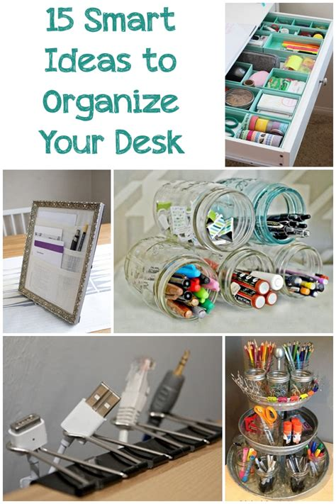 how to organize desk 15 smart ideas to organize your desk page 2 of 16