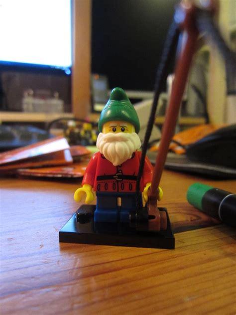 Florian Der Gartenzwerg by Lego Sammelfiguren Serie 4 Update 2 Florian Spitzohr