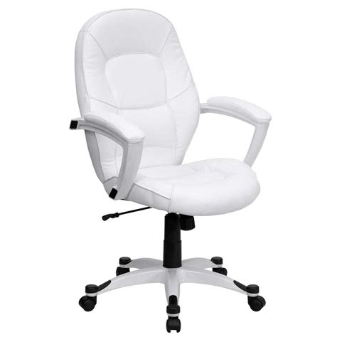 white chair for desk white office chair design and style