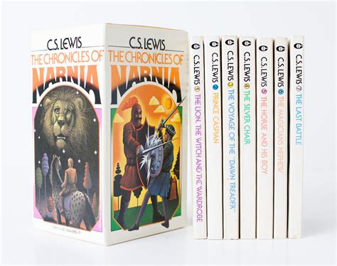 narnia picture books vintage 1970 chronicles of narnia series box set