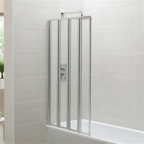 bath folding shower screens april identiti2 folding bath screen