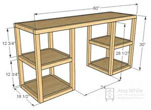 how to build an office desk white build a parson tower desk free and easy diy