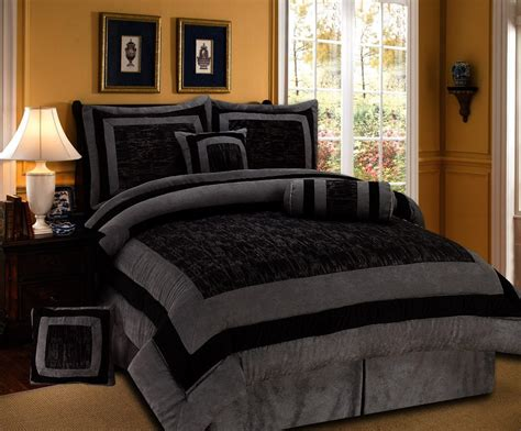 and black bed sets most beautiful black and white bedding sets the comfortables