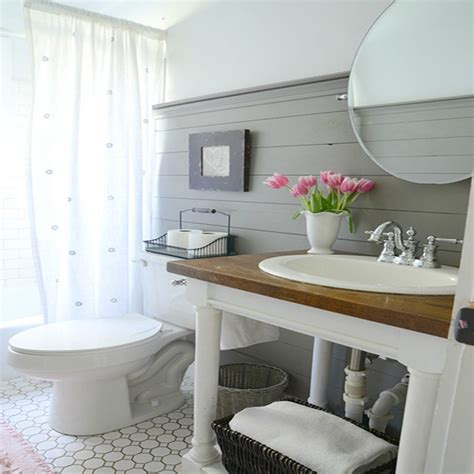 Really Small Bathroom Ideas the different looks when using shiplap wainscoting in your