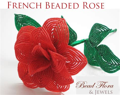 bead of roses beaded flower tutorials 3 2 2015 guide to