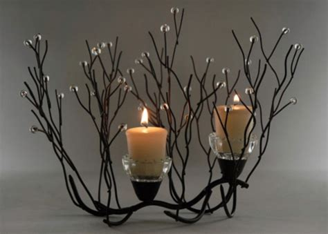 metal twig tree candle holder twig candle holder