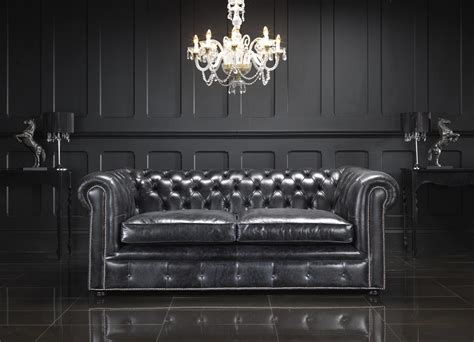living room with black leather sofa living room with black leather chesterfield sectional sofa
