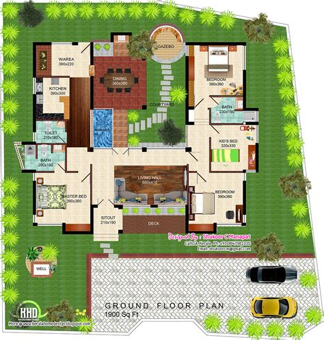eco friendly home plans eco friendly single floor kerala villa kerala home