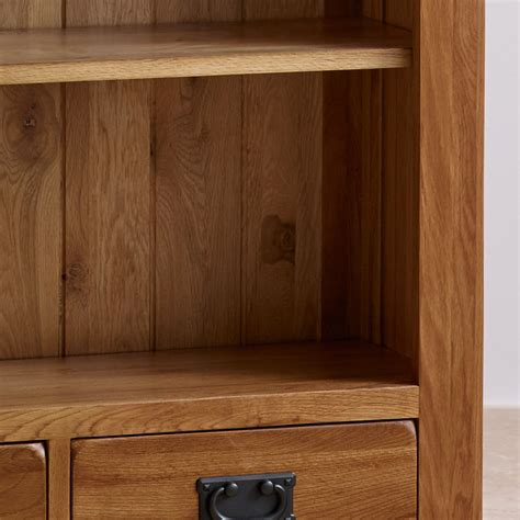 oak office furniture for the home original rustic solid oak large bookcase home office