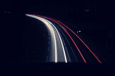 Car Lights Wallpaper by Road Lights Exposure Car