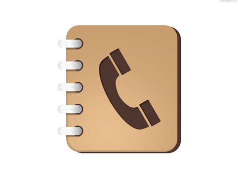 phone book picture phone book icon psd psdgraphics