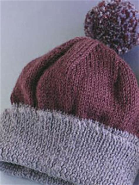 knitting bobble pattern bobble hats pattern knit rowan