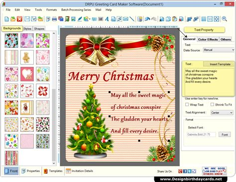 card program greeting cards design software create colorful cards using