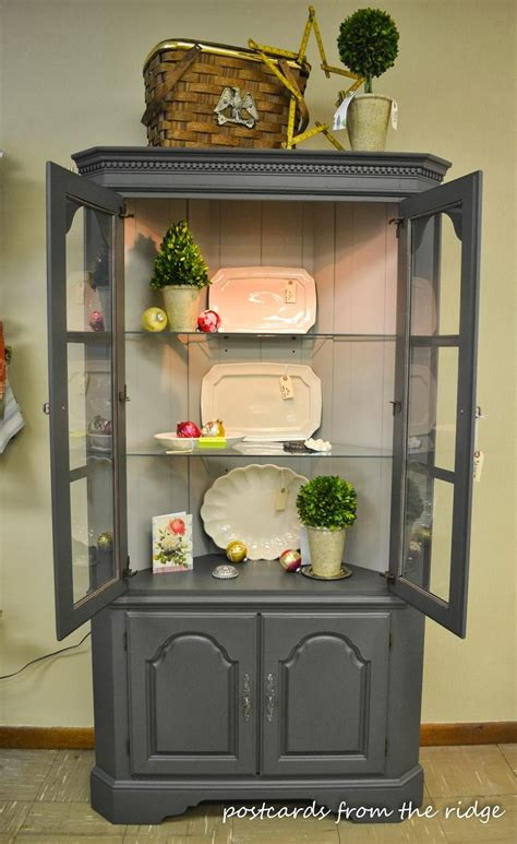 corner kitchen hutch furniture painted projects benjamin topiary and corner
