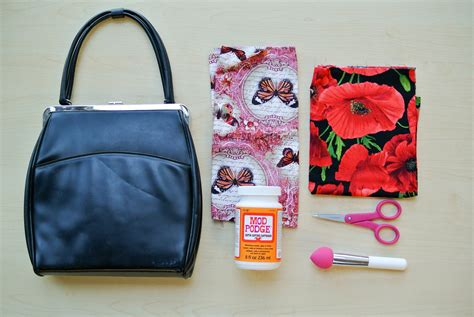 decoupage on leather diy d 233 coupage purse